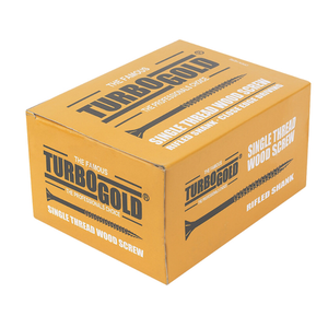 TURBOGOLD PZ DOUBLE SELF-COUNTERSUNK WOODSCREWS 5 X 50MM 200 PACK