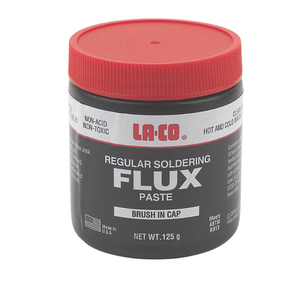 FLUX PASTE WITH BRUSH IN CAP 125G