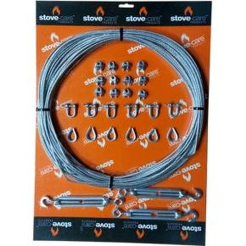 Guy Wire Kit 30m complete kit