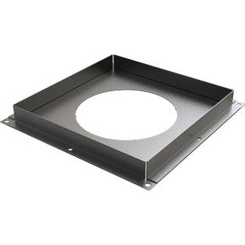 Solid Firestop Plate - BLACK