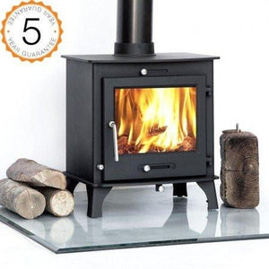 7-8kw OTTAWA + CLEAN BURN Wood burning, Log Burner, Multi Fuel Stove