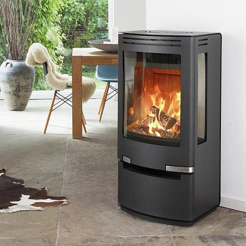 7kw Aduro 7-1 with drawer, Wood burning, Log Burner, Multi Fuel Stove