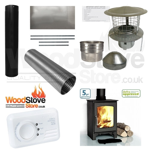 Curve 5kw Defra Stove Installation Kit ONLY £695.00