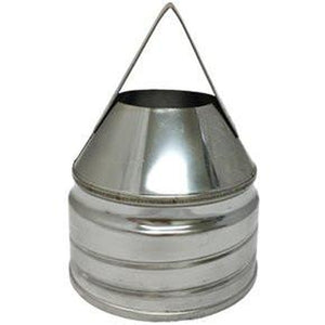 Multi Fuel Flue Liner Screw-FIX Nose Cone x 125mm