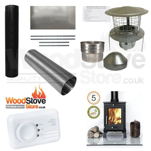 Ottawa 5kw Defra Stove Installation Kit ONLY £740.00