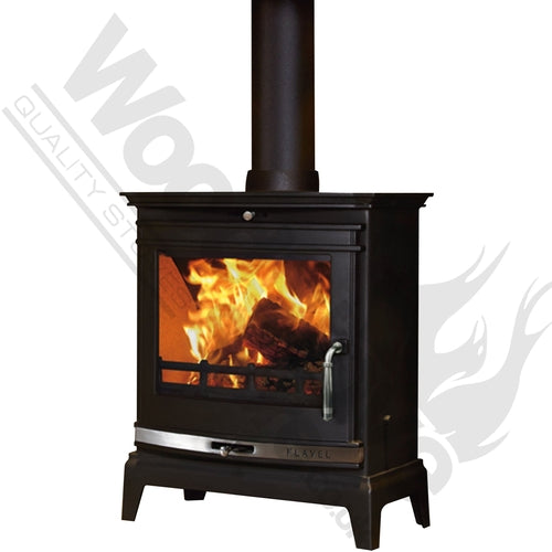 FLAVEL ROCHESTER 7KW DEFRA APPROVED MULTI-FUEL / WOOD BURNING STOVE