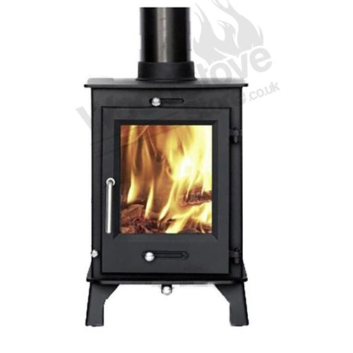 DEFRA APPROVED, Ottawa 5kw Contemporary Wood burning, Log Burner, Multi Fuel Stove