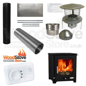 Woolly Mammoth 5kw Defra Stove Installation Kit ONLY £630.00