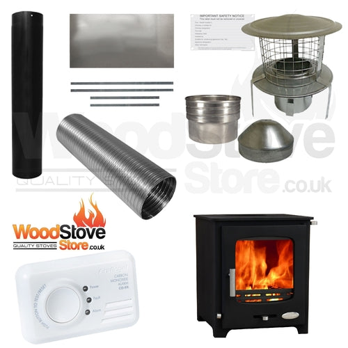 Woolly Mammoth 5kw Defra Stove Installation Kit ONLY £595.00