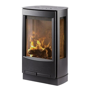 Wiking Miro 1 4.9kw Defra Wood Burning Stove With Side Glass