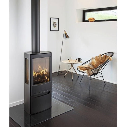 Wiking Miro 3 4.9kw Defra Wood Burning Stove With Side Glass