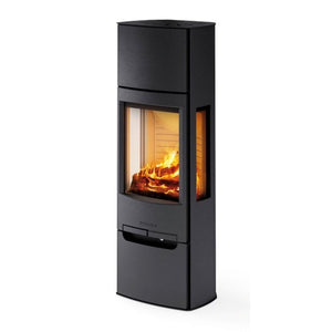 Wiking Miro 5 4.9kw Defra Wood Burning Stove With Side Glass