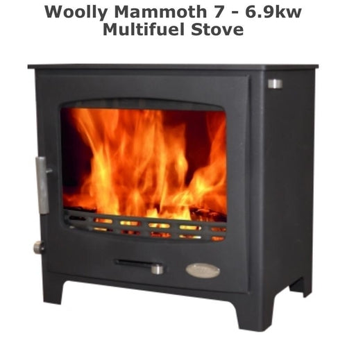 Woolly Mammoth 7 - 6.9kw Multifuel Stove