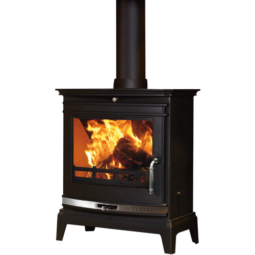 Complete Defra Flavel Rochester 7kw Multi Fuel Stove Wood