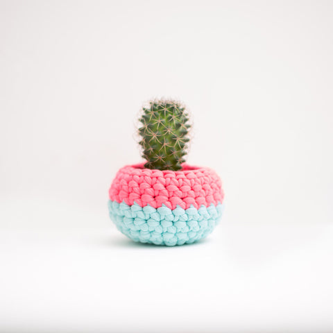 Mini Pod Crochet Basket