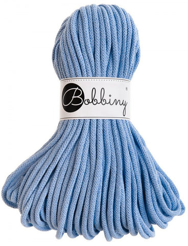Baby Blue Bobbiny Cotton Rope 50m