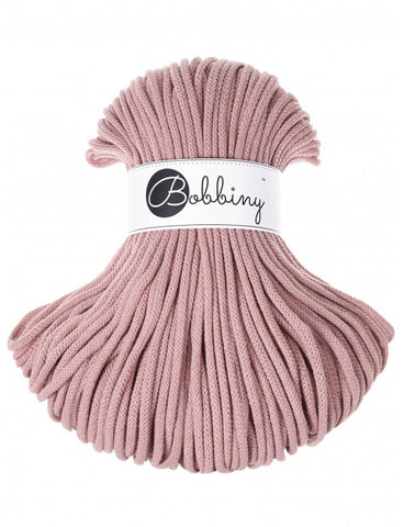 Blush Bobbiny Cotton Rope 100m
