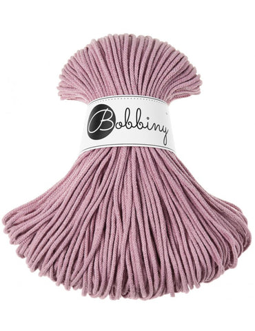 Dusty Pink Bobbiny Cotton Rope 100m
