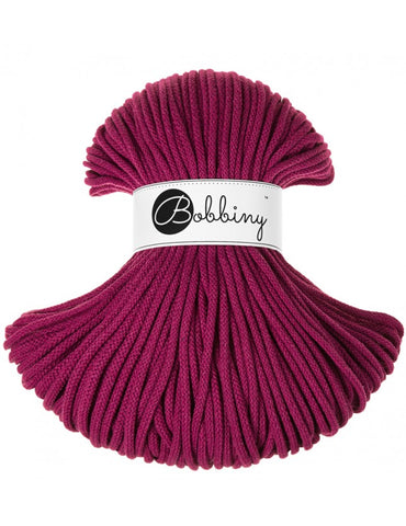 Grape Bobbiny Cotton Rope 100m