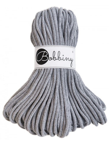 Grey Bobbiny Cotton Rope 50m