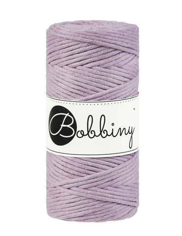 Dusty Pink Bobbiny 3mm Macrame Rope 100m