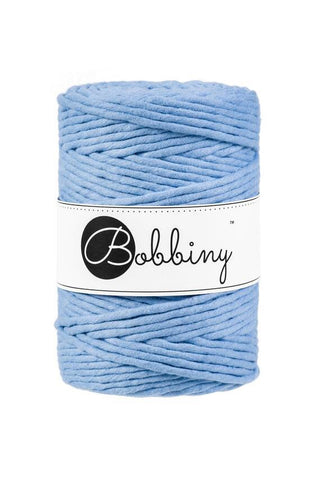 Baby Blue Bobbiny 5mm Macrame Rope 100m -