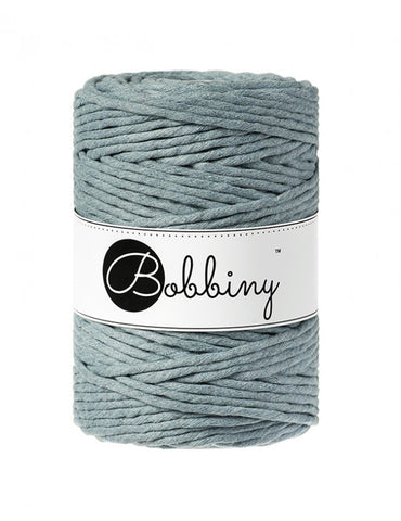 Raw Denim Bobbiny 5mm Macrame Rope 100m