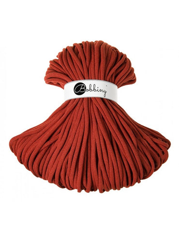 Burnt Orange Bobbiny Jumbo Rope 100m