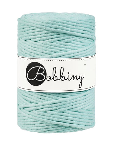 Mint Bobbiny 5mm Macrame Rope 100m