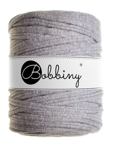 Jersey Grey Bobbiny T-Shirt Yarn