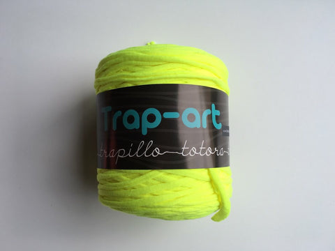 Neon Yellow Extra Thin Trap-Art Yarn