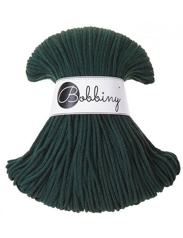 Forest Green Bobbiny Cotton Rope 100m