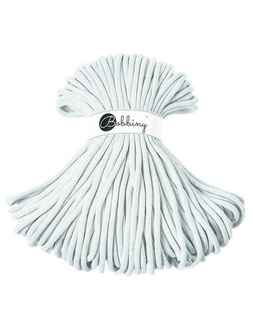 Light Grey Bobbiny Jumbo Rope 50m