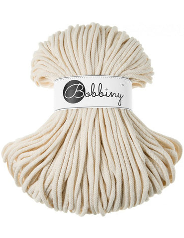 Natural Bobbiny Cotton Rope 100m