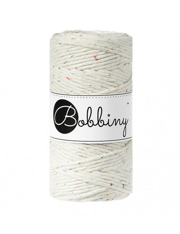 Rainbow Dust Bobbiny 3mm Macrame Rope 100m