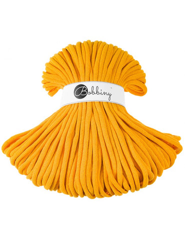 Yellow Bobbiny Jumbo Rope 100m