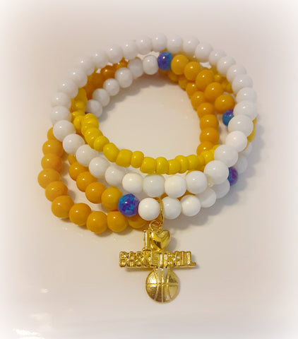 Stack Bracelet Set (Warrior Fan)