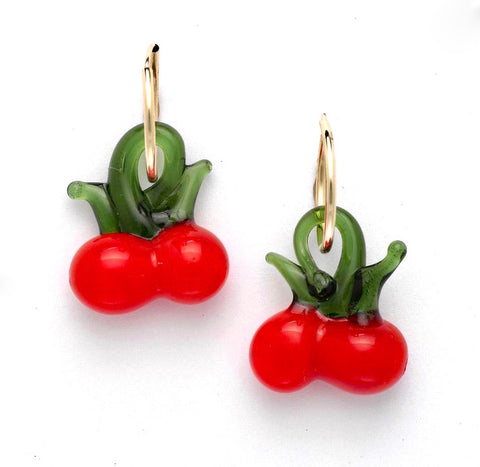 Cherry Earrings - OIYA