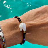 Raw Pearl Beaded Bracelet - OIYA