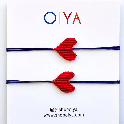 Set 4 - Heart Bracelet - OIYA