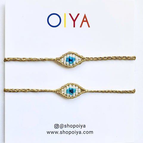 Set 3 - Evil Eye Bracelet - OIYA