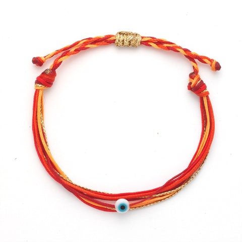 Duo Color String Bracelet - OIYA