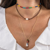 Bottle Charm Necklace - OIYA