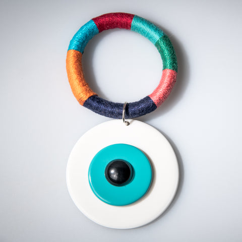 White Evil Eye - OIYA