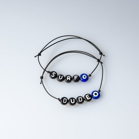 Black Friendship Bracelet - OIYA