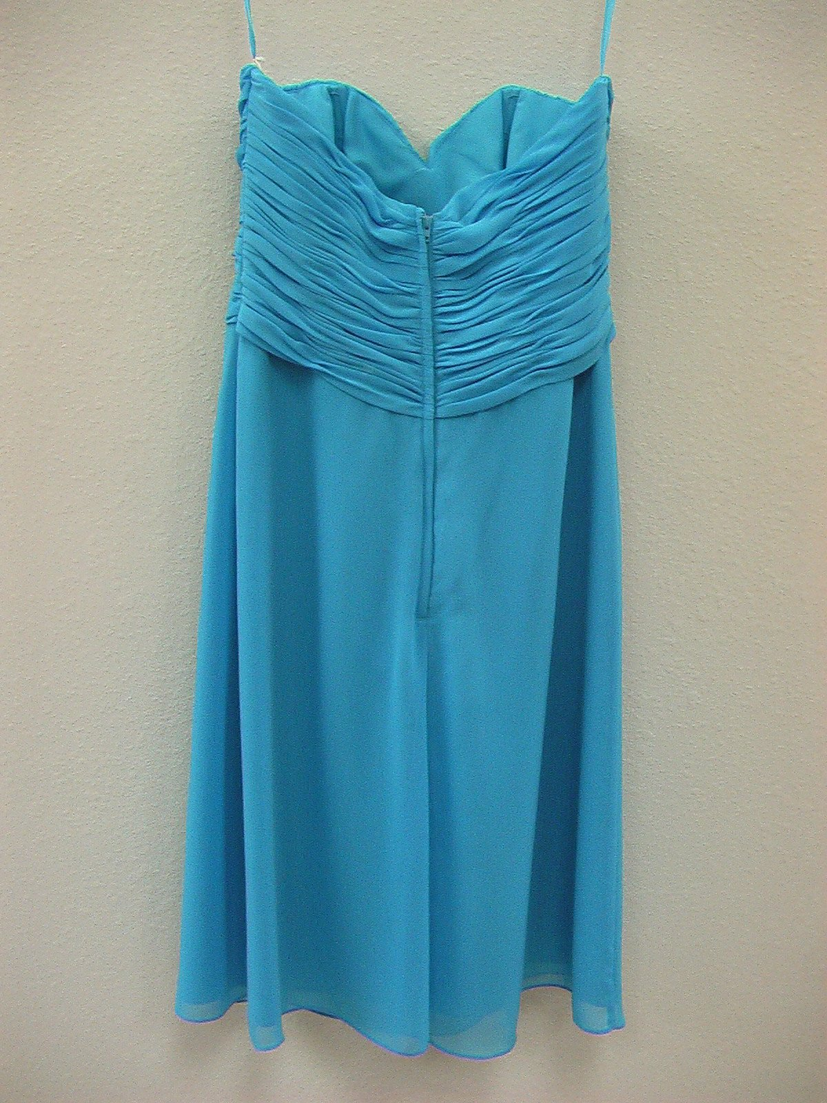 Allure 1251 Turquoise Size 10 In Stock Bridesmaid Dress - Tom's Bridal