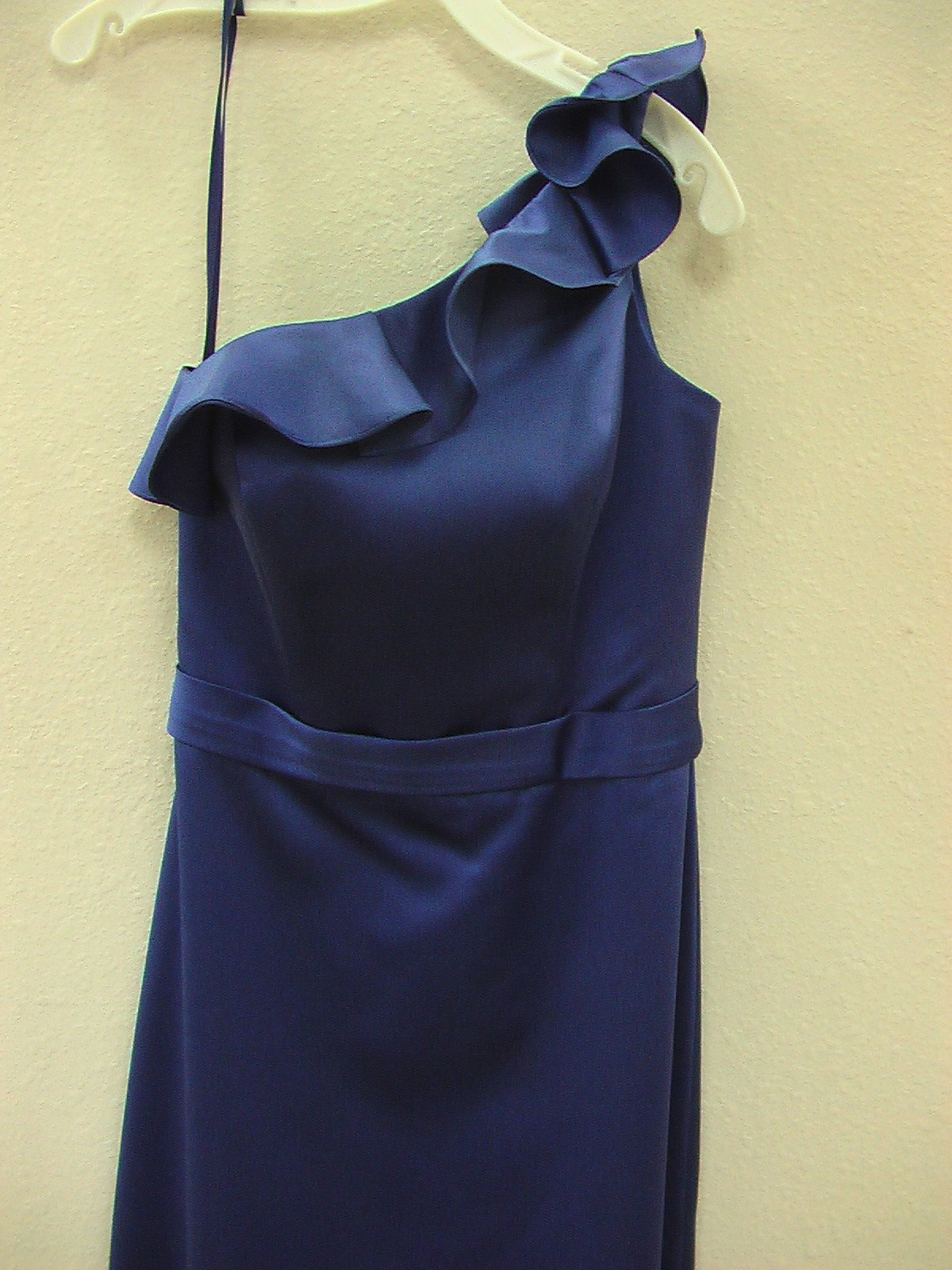Allure 1253 Sapphire Size 10 In Stock Bridesmaid Dress - Tom's Bridal