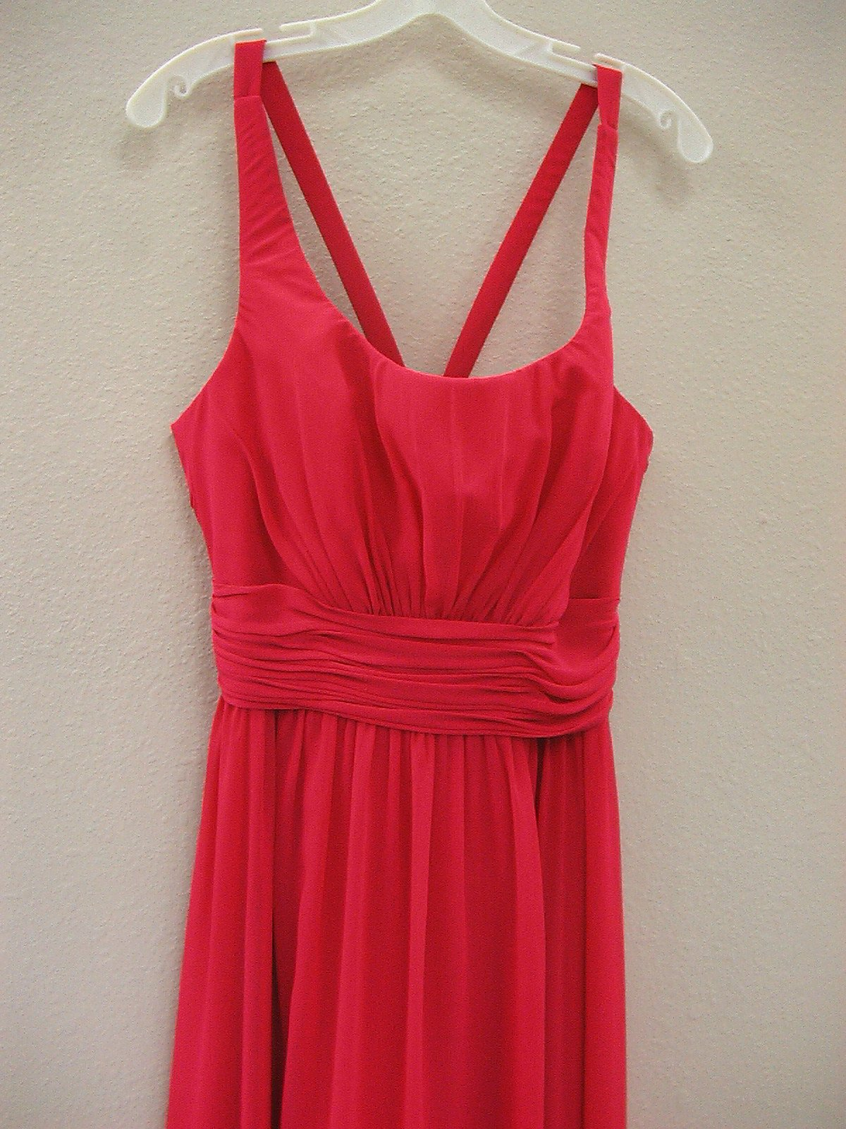 Allure 1257 Hot Pink Size 12 In Stock Bridesmaid Dress - Tom's Bridal