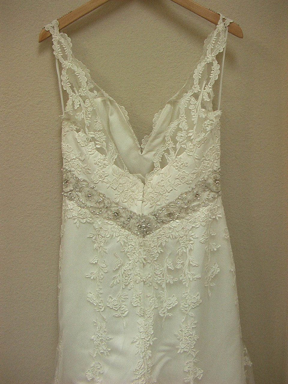 Allure 2250 Ivory/Silver size 10 In Stock Wedding Dress - Tom's Bridal