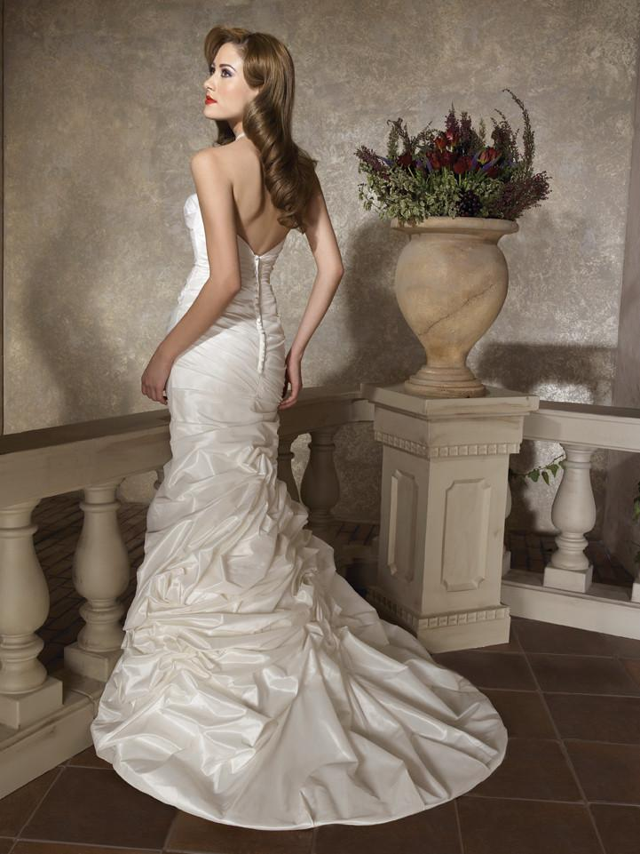 Allure 2252 Ivory/Silver size 12 In Stock Wedding Dress - Tom's Bridal